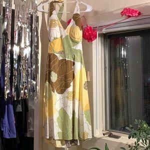 Summery Halter Dress